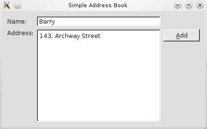 qt reference book qt 4 7 part 2 adding addresses
