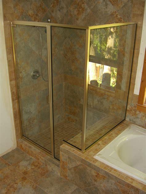 swinging shower doors glass swinging shower doors in portland or esp supply