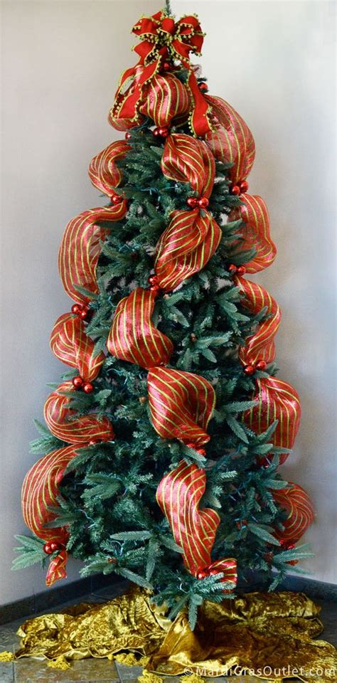ribbon mesh tree quickly add deco mesh or ribbon accents to your