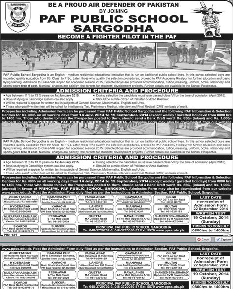 Mba Af 601 Economics For Managers by Paf School Sargodha Admission 2018 Form Last Date