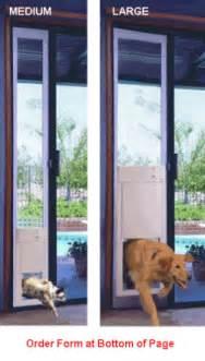Dog Door For Sliding Glass Door High Tech Pet Electronic Pet Door For Sliding Glass Door