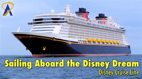 boat or ship in dream sailing aboard the disney dream cruise ship with disney