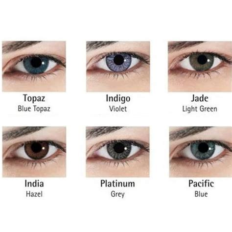 contact lenses colored colored contact lenses at rs 950 box s colored contact