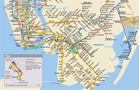subway map mta info subway map click on any station to link to