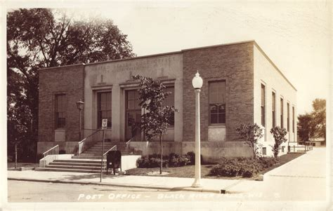 Black River Post Office by Post Cards Black River Falls Jackson Co Wis