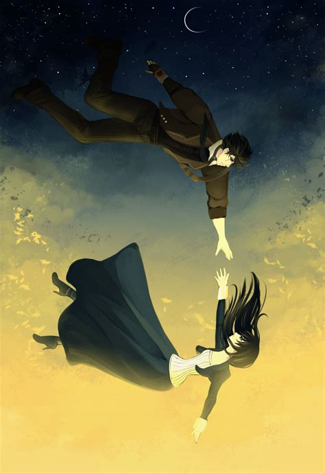 Anime Art Falling Cdr Falling By Melloskitten On Deviantart