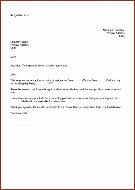 resignation letter template uk sampletemplatess