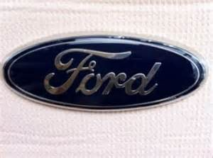 Custom Ford Oval Emblems Custom Made For Ford Edge Oval Emblem Overlay Decals