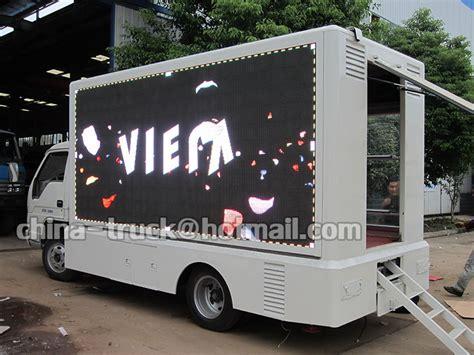 Led Monitor Mobil led screen truck mobile truck led tv screen led mobile