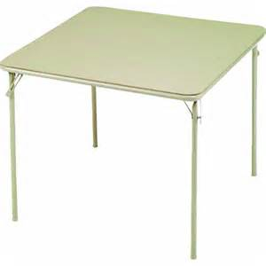 Square Card Table by Meco Samsonite 084 09 831 Suddencomfort Square Folding