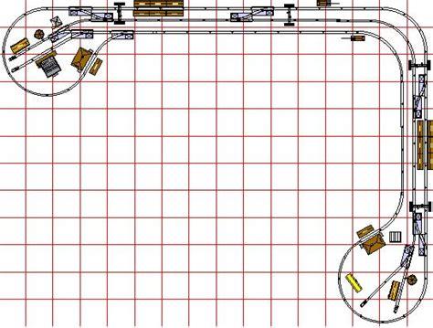N Shelf Layout Plans 1 shelf layout plans model railroad track layouts free