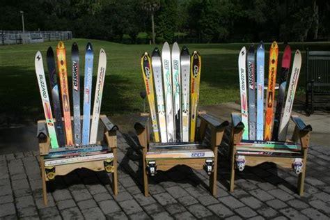 water ski bench adirondack snow ski chairs