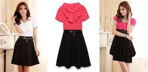 Dress Batik Wanita 3203 model baju dress terbaru images