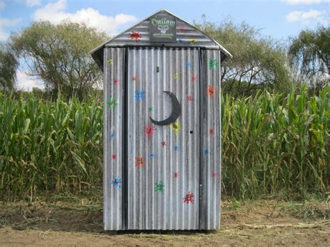 poop houses haunted attractions props