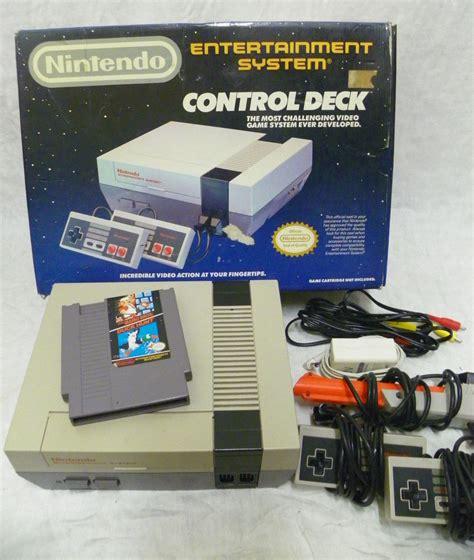 original nintendo console original nes nintendo entertainment system console