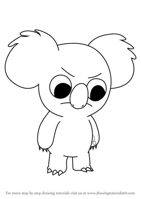 Koala Drawing Easy