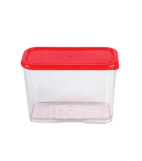 Wide Block Food Container 704 700ml 1c container with lid heap seng pte ltd