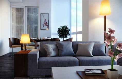 deco salon avec canape gris deco salon avec canape bleu chaios com