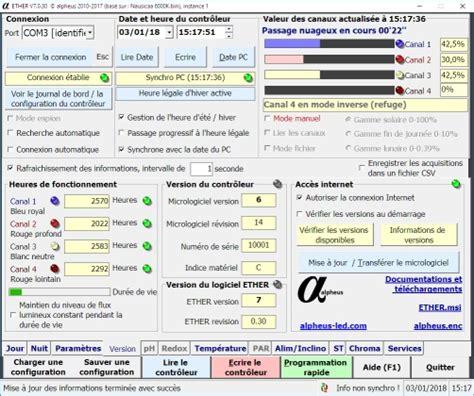 Logiciel Eclairage by Controleur Logiciel Pilotage Ether Eclairage Controleur