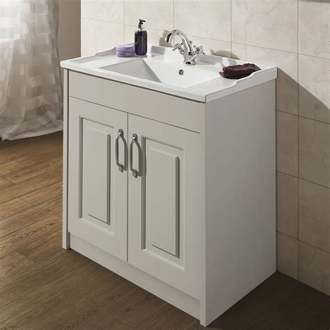traditional bathroom basin york traditional grey bathroom basin unit 800 x 460mm