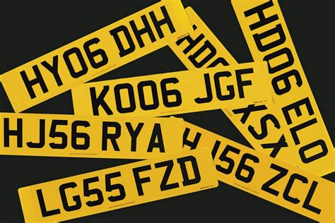 uk car number plates explained rules history     auto express