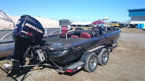 nitro boats ontario nitro savage 912 1999 used boat for sale in havelock