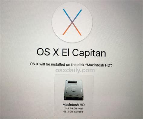 Instal Ulang Mac cara install ulang osx el capitan di mac insightmac