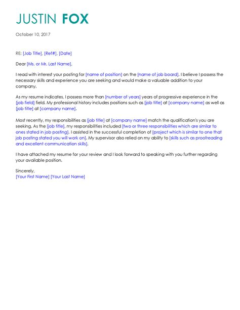 How To Make A Professional Cover Letter by Get The With Free Professional Cover Letter Templates