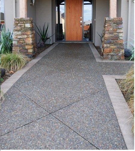 Patio Ideas Nz Exposed Aggregate Concrete Patios And Exposed Aggregate