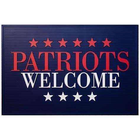Patriots Doormat by Patriots Welcome Doormat
