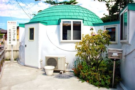 semi permanently living space the dome house designshell dome like shelter home harmonizing