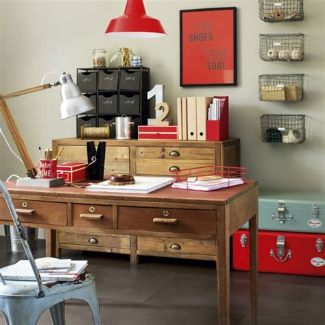 clever home decor ideas make your home office industrial 5 clever ideas for home offices home office decorating