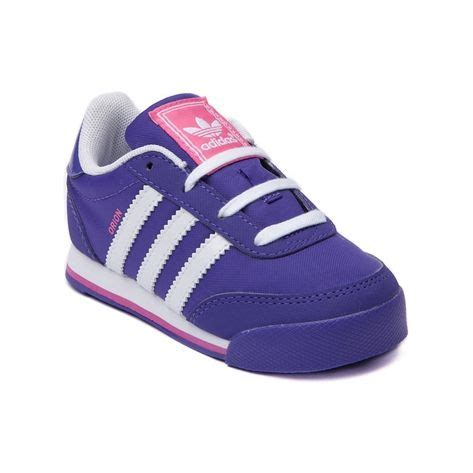 shop for toddler adidas athletic shoe in purple white pink at journeys kidz shop today