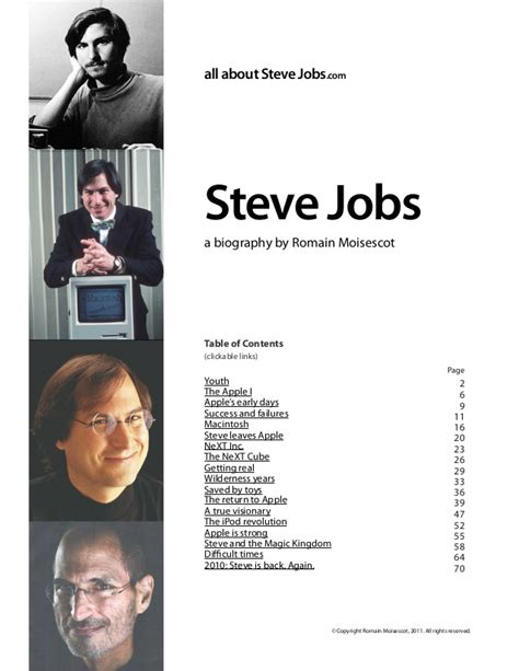 biography of steve jobs for students steve jobs biography