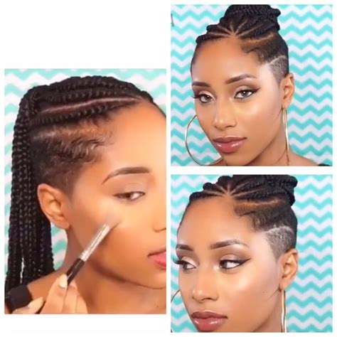 long cornrow hairstyles with shaved sides my next hairstyle cornrows with shaved sides and back
