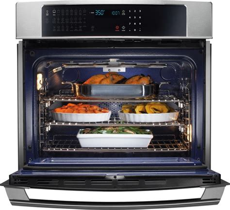 Oven Listrik Electrolux ew27ew55gs electrolux 27 quot single wall oven wave touch