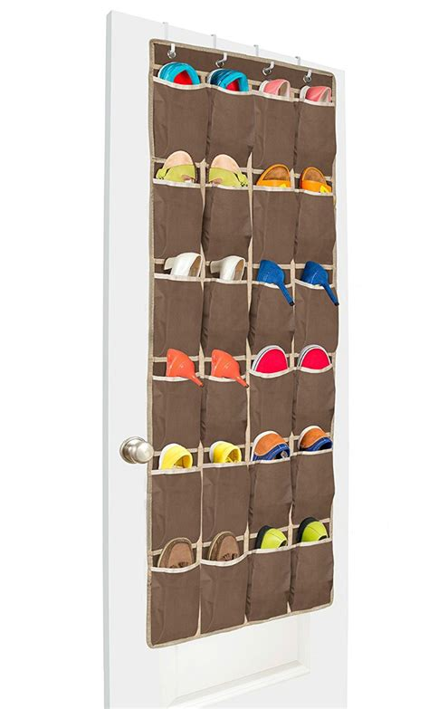 over the door organizer 20 great space saving ideas for doors living in a shoebox