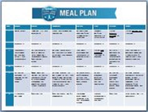 Gnc Detox Meal Plan by Meal Plan 14 Days Gnc Total Lean Challenge