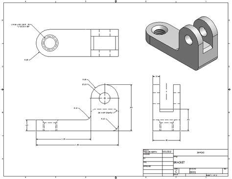 Technische Zeichnung Ansichten by Creating Drawings In Inventor Mae3