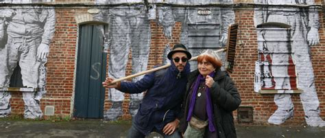 agnes varda faces places dvd agn 232 s varda s faces places makes ordinary people iconic