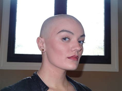 bald women smooth bald head make me bald view image shiny bald head quotes