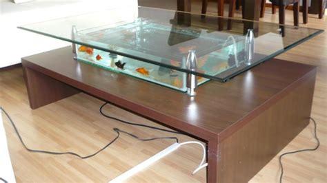 aquarium tafel maken hoe een aquarium salontafel zelf maken tips gezocht