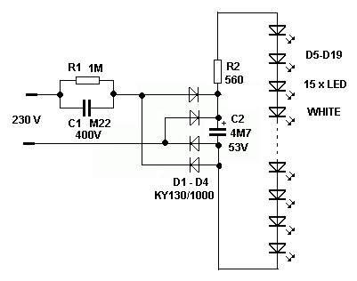 led dioda na 230v led dioda na 230v schema 28 images spr 225 vn 253 v 253 znam barev kontrolek led diod červen