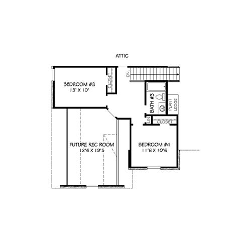 Traditional Style House Plan 4 Beds 3 00 Baths 2300 Sq 2300 Sq Ft House Plans