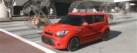 2010 Kia Soul Commercial Kia Soul S Tv Hamster Commercial Receives The 2010 Silver