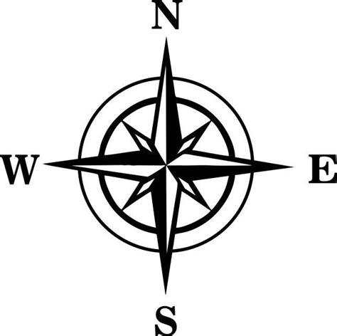 Kfz Sticker by Windrose Aufkleber Auto Folie Kfz Sticker Kompass Karte