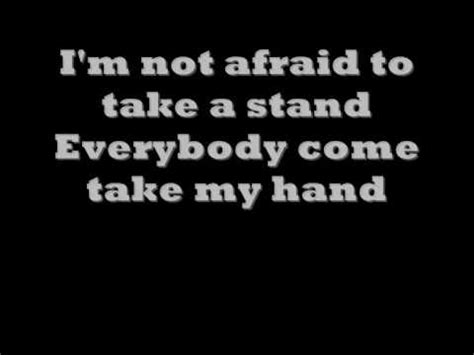 eminem lyrics not afraid eminem not afraid lyrics on screen youtube