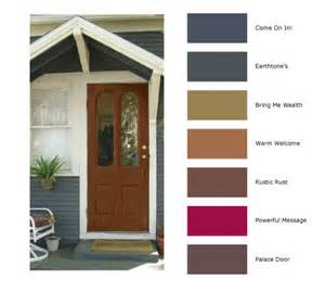Front Door Color Meanings Paints From Hirshfield S Colour Canvas 2011
