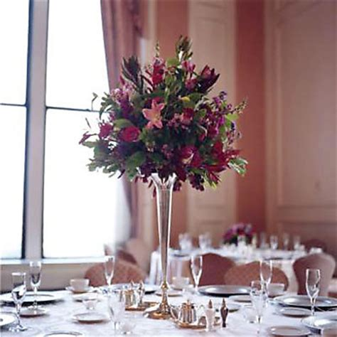 Trumpet Vase Centerpieces by 15 Ideas On Feather Centerpieces Peacock