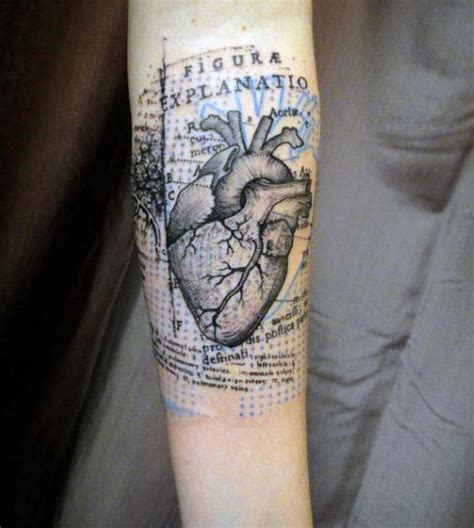 anatomy tattoos 90 anatomical designs for blood pumping ink